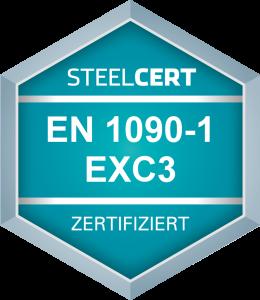 EN 1090-1: 2009+A1:2011 Tragende Bauteile nach EN 1090-2 bis EXC3